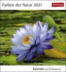 Farben der Natur 2021, Kalender