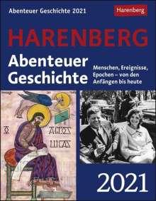 Markus Hattstein: Abenteuer Geschichte 2021, Kalender