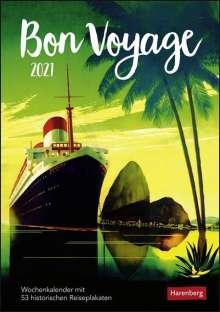 Bon Voyage Kalender 2021, Kalender