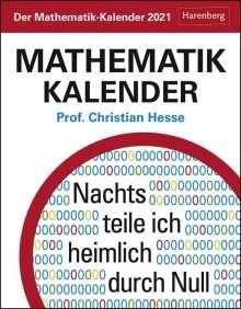 Christian Hesse: Der Mathematik-Kalender Kalender 2021, Kalender