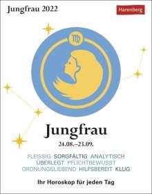 Robert Satorius: Sternzeichenkalender Jungfrau 2022, Kalender