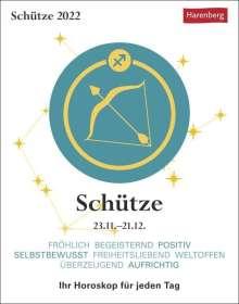 Robert Satorius: Sternzeichenkalender Schütze 2022, Kalender