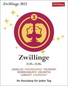 Robert Satorius: Sternzeichenkalender Zwillinge 2022, Kalender