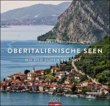 Oberitalienische Seen - Kalender 2021, Diverse