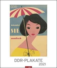 DDR-Plakate - Kalender 2021, Kalender