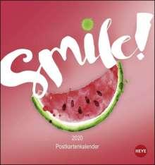 Smile Postkartenkalender Kalender 2020, Diverse