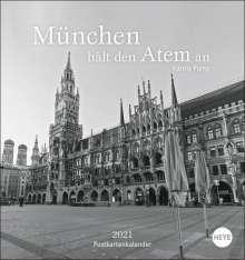Karoly Pump: München hält den Atem an Postkartenkalender, Kalender