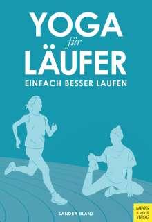 Sandra Blanz: Yoga für Läufer, Buch