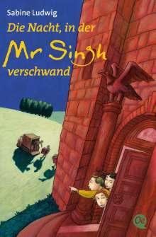 Sabine Ludwig: Die Nacht, in der Mr Singh verschwand, Buch