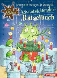 Erhard Dietl: Die Olchis. Adventskalender-Rätselbuch, Buch
