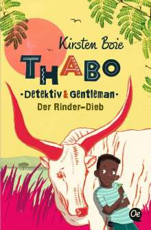 Kirsten Boie: Thabo: Detektiv & Gentleman. Der Rinder-Dieb, Buch