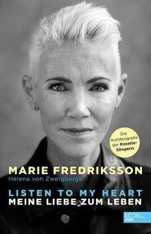 Marie Fredriksson: Listen to my heart., Buch