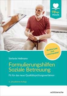 Stefanie Hellmann: Formulierungshilfen Soziale Betreuung, Buch