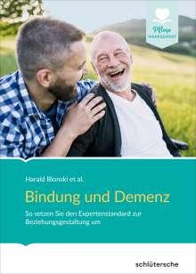 Harald Blonski et al: Bindung und Demenz, Buch