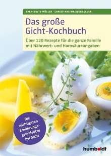 Sven-David Müller: Das große Gicht-Kochbuch, Buch