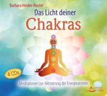 Barbara Heider-Rauter: Das Licht deiner Chakras, CD