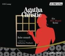 Agatha Christie: Ruhe unsanft, 3 CDs