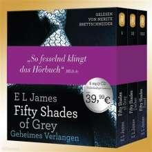 E L James: Fifty Shades of Grey. Die Gesamtausgabe (Teil 1-3), CD