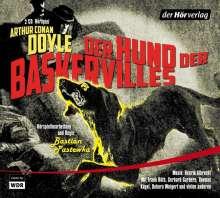 Arthur Conan Doyle: Der Hund der Baskervilles, 2 CDs