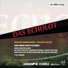 Walter Kempowski: Das Echolot, 7 CDs