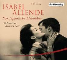 Isabel Allende: Der japanische Liebhaber, 6 CDs