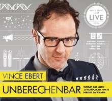 Vince Ebert: Unberechenbar, 2 CDs