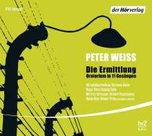 Peter Weiss: Die Ermittlung, 3 CDs
