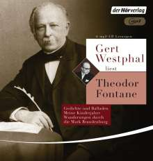 Theodor Fontane: Gert Westphal liest: Theodor Fontane, MP3-CD