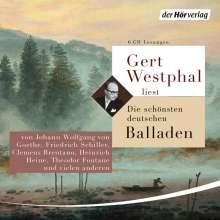 Clemens Brentano: Gert Westphal liest Die schönsten Balladen, 6 CDs
