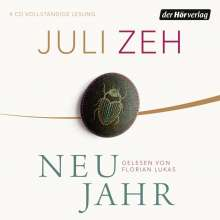 Juli Zeh: Neujahr, 5 CDs