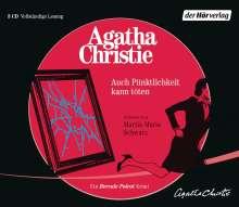 Agatha Christie: Auch Pünktlichkeit kann töten, 3 CDs
