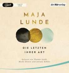Maja Lunde: Die Letzten ihrer Art, MP3-CD
