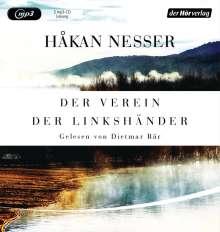 Håkan Nesser: Der Verein der Linkshänder, MP3-CD