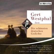 Johann Wolfgang von Goethe: Gert Westphal liest: Die schönsten deutschen Gedichte, 4 CDs