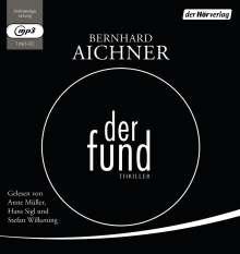 Bernhard Aichner: Der Fund, MP3-CD