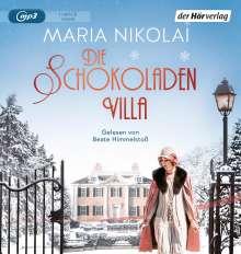 Maria Nikolai: Die Schokoladenvilla, MP3-CD