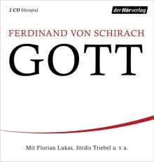 Ferdinand von Schirach: Gott, 2 CDs