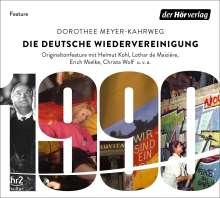 Die deutsche Wiedervereinigung, CD