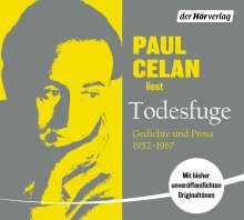 Paul Celan: Todesfuge, 2 CDs