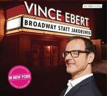 Broadway statt Jakobsweg, CD