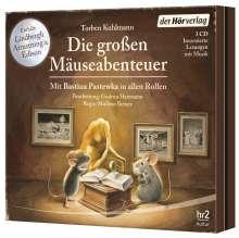 Die großen Mäuse-Abenteuer, 3 CDs
