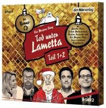 Tod unter Lametta Teil 1+2, 4 CDs
