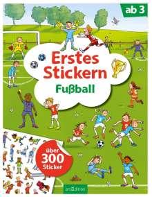 Erstes Stickern Fußball, Buch