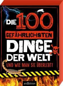 Anna Claybourne: Die 100 gefährlichsten Dinge der Welt, Buch