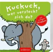 Thorsten Saleina: Kuckuck, wer versteckt sich da?, Buch