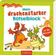 Mein drachenstarker Rätselblock für die Vorschule, Buch