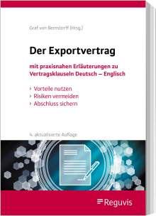 Christoph Graf Von Bernstorff: Der Exportvertrag, Buch