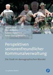 Jürgen Wolf: Perspektiven seniorenfreundlicher Kommunalverwaltung, Buch