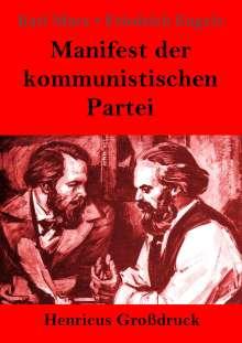 Karl Marx: Manifest der kommunistischen Partei (Großdruck), Buch