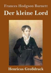Frances Hodgson Burnett: Der kleine Lord (Großdruck), Buch